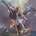 Saint Michael The Archangel Logo